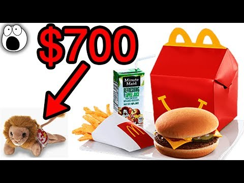 Happy Meal Toys That Are Now Worth Serious Money