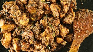 """Learn How To Make Andhra Style Chicken Fry Recipe, a South-Indian Style Chicken Fry Recipe from Chef Smita Deo only on Get Curried. Make this delicious, Chicken Recipe at your home and share your experience with us in the comments section below.Ingredients:-6 Tbsp. OilFew sprigs of curry leaves4 green chillies, slit½ Tsp. Pepper powder12 cashew nuts powdered For the marination:-½ kg. Boneless chickenJuice of 1 lemon½ Tsp. Turmeric powder2 Tbsp. Chilli powder2 large onions, ground1 Tbsp. Ginger paste1 Tbsp. Garlic paste1 Tbsp. GheeSalt to taste¼ cup finely chopped coriander leaves For Garam Masala Powder:-2 Tbsp. Coriander seeds1"""" Cinnamon8 cloves5 green cardamoms1 Tsp. Cumin seeds½ Tsp. Fennel seedsMethod:-1. Make a fine powder of the garam masala ingredients.2. Marinate the chicken with the ingredients mentioned and the garam masala powder and set aside for 15 minutes.3. Then cook the chicken on a low flame until the chicken is soft and tender.4. Heat oil in a pan and add the curry leaves and the green chillies and fry till the leaves turn crisp.5. Add the cooked chicken and fry on a high flame.6. Add the pepper powder and the cashew nut powder and fry further for 3-4 minutes and garnish with coriander leaves and serve.Andhra Style Chicken Fry is ready to eat!HAPPY COOKING!!!Host: Smita DeoDirector: Narayan ThakurCamera: Kavaldeep Singh Jangwal, Pratik Gamre, Akshay Sawant, Spandan RoutEditing: Kishor RaiProducer: Rajjat A. BarjatyaCopyrights: Rajshri Entertainment Pvt LtdSubscribe and Get regular Updates: http://www.youtube.com/user/getcurried?sub_confirmation=1https://www.facebook.com/GetCurriedhttps://plus.google.com/+getcurriedhttps://twitter.com/Get_Curriedhttps://instagram.com/getcurried"""