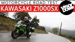 8. 2017 Kawasaki Z1000SX Review Motorcycle Road Test