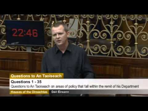 Richard Boyd Barrett tackles Taoiseach over housing crisis