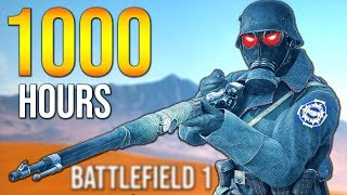 What 1000 HOURS of SCOUT playtime looks like in BF1