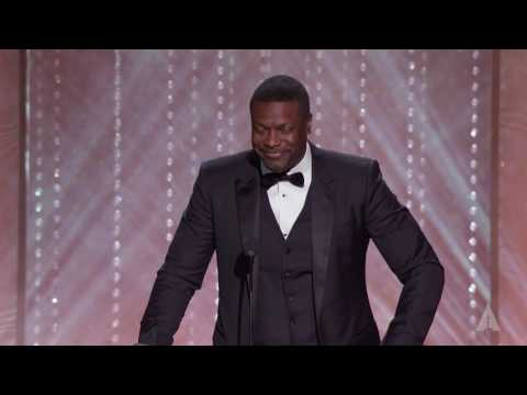Chris Tucker honors Jackie Chan at the 2016 Governors Awards