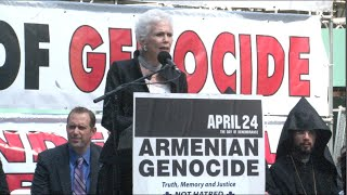 Interview with Dr. Pamela Steiner at 101st Commemoration of Armenian Genocide