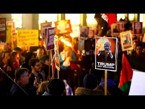 Νταβός 2018: Διαδηλώσεις κατά του Τραμπ
