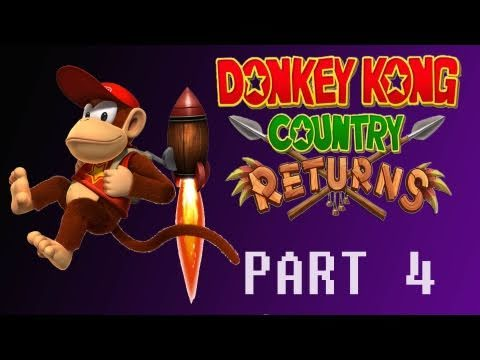 preview-Donkey Kong Country Returns (Wii) Part 4 (Kwings)