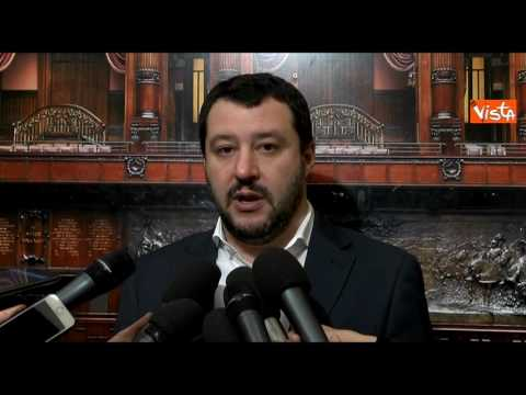 Salvini: io sciacallo se vado in Abruzzo? È il governo che dorme… (video)
