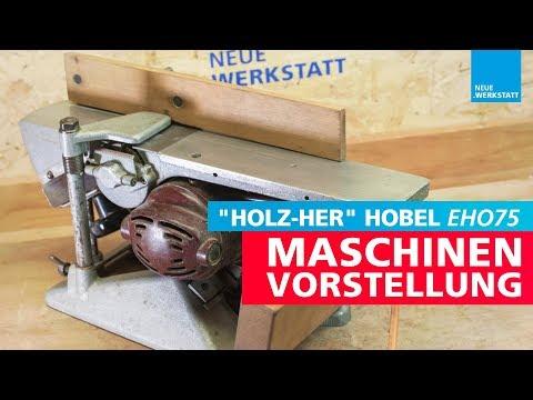 Fund bei Werkstatt Auflösung / HOLZ-HER Abrichthobel / EHO75 stationärer Hobel von HOLZHER EHO-75
