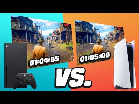 PS5 vs Xbox Series X Load Times Comparison