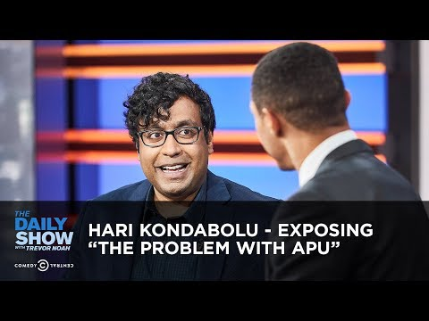 "Hari Kondabolu - Exposing ""The Problem with Apu"" | The Daily Show"
