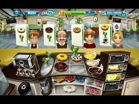 Cooking Fever - Bakery Restaurant Kitchen Upgrade GamePlay L Level 23, 24, 25, 26, 27 (3 Stars)