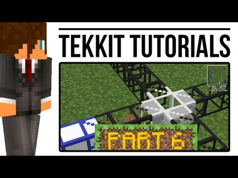 Tekkit Tutorial: Pipes - Filters, Teleporters and more! (BuildCraft)