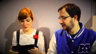 Les Questions Aléatoires - Aurélie Neyret et Joris Chamblain - Angoulême 2015 - Interview - CARNETS DE CERISE (LES)