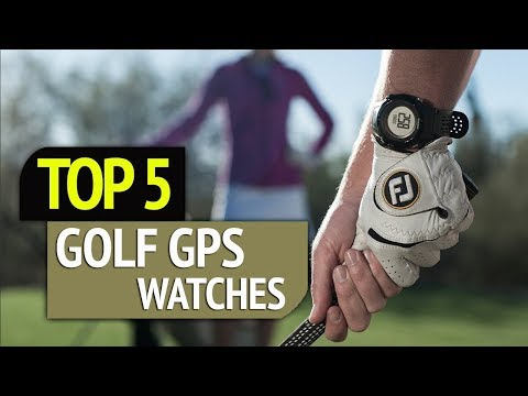 TOP 5: Golf GPS Watches 2018