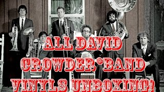 All David Crowder*Band Vinyl Unboxing