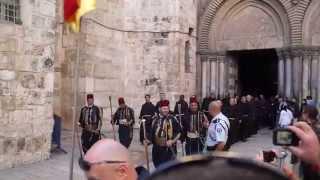 Храм Гроба Господня. Иерусалим. Израиль 3.04.2015 yt:quality=high