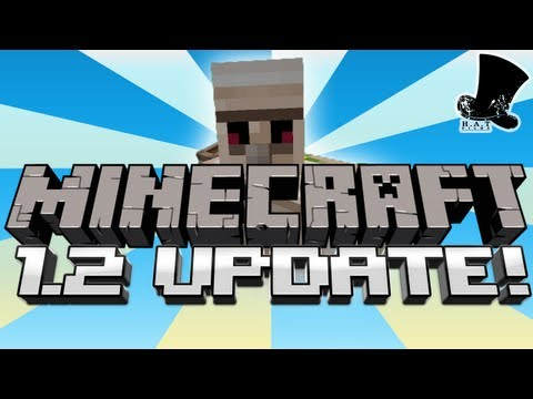 minecraft 1.2 update - We are very excited to announce Minecraft 1.2 http://minecraft.net This update includes many new features, such as zombies with new AI, ocelots that turn in ...