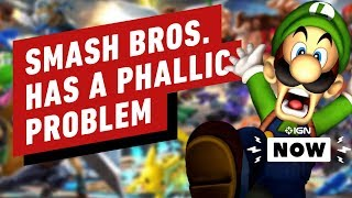 Super Smash Bros. Ultimate Stage Creator Introduces a Phallic Problem - IGN Now by IGN