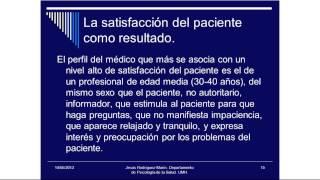 Umh4313 2012-13 Lección 009 Tema 6.1 Satisfacción Del Paciente (2)
