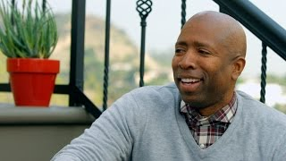 """Former basketball star Kenny """"The Jet"""" Smith chats with Cat Greenleaf about going from a basketball player to a commentator on..."""