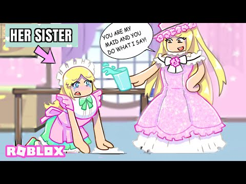 I LIED TO MY TWIN SISTER And Turned Her Into A Maid... | Roblox Roleplay