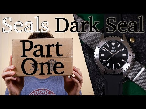 Seals Watch Co. Dark Seal - Part One, A New & Affordable Field Watch - Unboxing & First Impression