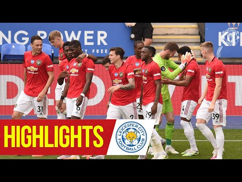 Highlights | Strikes from Fernandes & Lingard seal Reds win | Leicester City 0-2 Manchester United