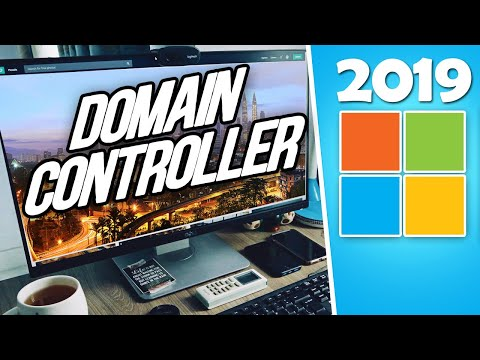 How to Setup a Windows Server 2019 Domain Controller