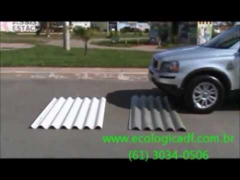 Placas e telhas ecológicas - Eco-Lógica DF