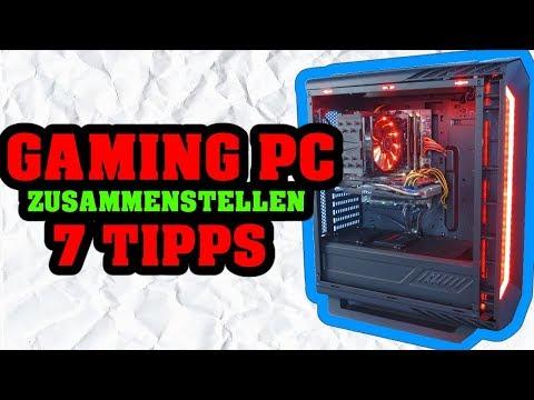 7 Tipps zur PC Zusammenstellung [GER]