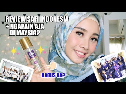 REVIEW SAFI INDONESIA SKIN CARE + CERITA KE SAFI RESEARCH INSTITUTE MALAYSIA