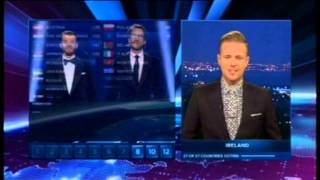 Nicky Byrne Irish Votes Eurovision 2014