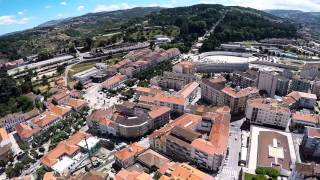 Lamego Portugal  city photos gallery : Flight over Lamego, Portugal