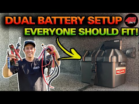 SIMPLE, AFFORDABLE Dual battery setup that works! EASY DIY 12V tips you've NEVER seen before!