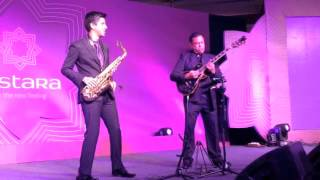 Rhys N Ian at the VISTARA AIRLINES Inaugural Event