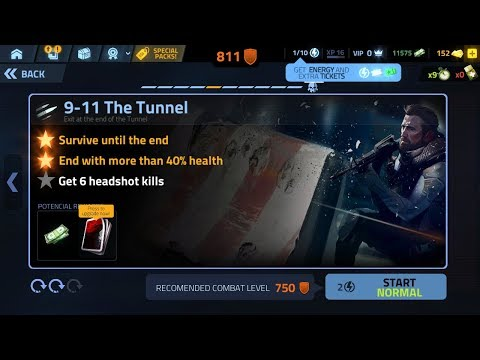 Cover Fire Experiment Eve 9-11 the tunnel episode 9 Games Re-Play