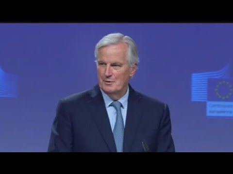 Ο Μπαρνιέ παρουσίασε τα κύρια σημεία της συμφωνίας για το Brexit