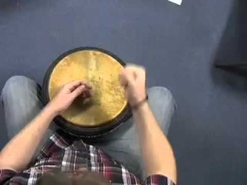 Part 2b More advanced African drumming (djembe) lesson