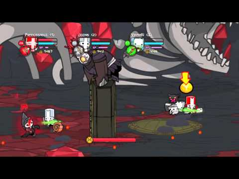 Castle Crashers [Co-op] #10 - Конец...