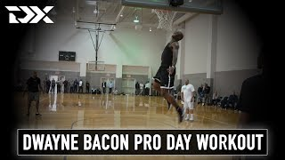Dwayne Bacon NBA Pro Day Workout