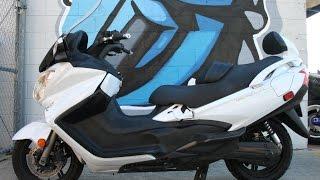 6. 2013 Suzuki Burgman 650 Executive ...Very Nice Freeway Legal Scooter!