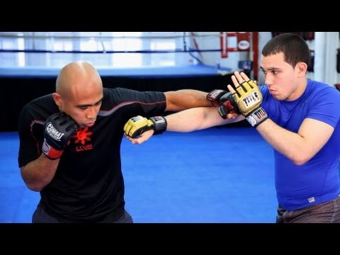 How to Counter the Cross   MMA Fighting