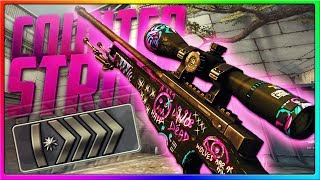 CS GO - SILVERS THINK I'M HACKING!   CSGO Competitive Gameplay