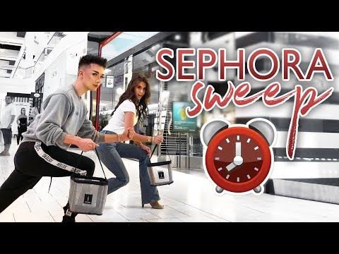 60 SECOND SEPHORA SWEEP ft. Tati Westbrook