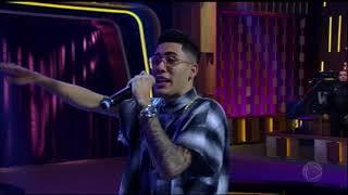 "image of Kevinho canta ""Ta Tum Tum"" no Programa do Porchat"