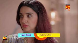 Click here to Subscribe to SAB TV Channel: https://www.youtube.com/user/sabtv?sub_confirmation=1Click to watch all the videos of this show - https://www.youtube.com/playlist?list=PL6Rtnh6YJK7Zf2KY76WHB_elerU1CbkXbWatch the coming hilarious episode of TV, Biwi Aur Main to find out what happens next!About TV, Biwi Aur Main:----------------------------------------The show revolves around a TV serial producer Rajeev, and his family and how the TV show which he produces affects not only his work, but also creates chaos in his domestic life.Each episode will revolve around situations that develop making a TV show. The producer will always be at the receiving end at work (on the sets) and home, as he will constantly struggle to meet the demands of his mother, wife, his leading lady.'TV, Biwi Aur Main', is a bouquet of hilarious entertainment that gives us a ringside view of the day-to-day workings of the TV industry, warts and all!TV, Biwi Aur Main Cast:------------------------------------- Karan Veer Mehra, Shruti Seth, Tanvi Thakkar, Bindiya, Ashwin Kaushal, Kushbu Thakkar, Karan Goddwani as Kushal, Madhuri Sanjeev, Ashok Lokhande, Shivangi Verma, Akshay Bhagat, Sanjay Wadekar, Jay Shanker Pandey, Premchand Singh, Bhavish, Parveen Kaur. ----------------------------------------------------Dear Subscriber, If you are trying to view this video from a location outside India, do note this video will be made available in your territory 48 hours after its upload time.More Useful Links: * Visit us at: http://www.sonyliv.com * Like us on Facebook: http://www.facebook.com/SonyLIV * Follow us on Twitter: http://www.twitter.com/SonyLIVAlso get Sony LIV app on your mobile * Google Play - https://play.google.com/store/apps/details?id=com.msmpl.livsportsphone * ITunes - https://itunes.apple.com/us/app/liv-sports/id879341352?ls=1&mt=8https://www.youtube.com/playlist?list=PL6Rtnh6YJK7Zf2KY76WHB_elerU1CbkXb
