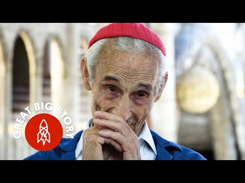 The Amazing Story of a 90Year Old Former Monk Who  s Been Building a Cathedral by Hand Since