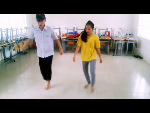 Rất dễ để học. Shuffle Dance cho người mới bắt...