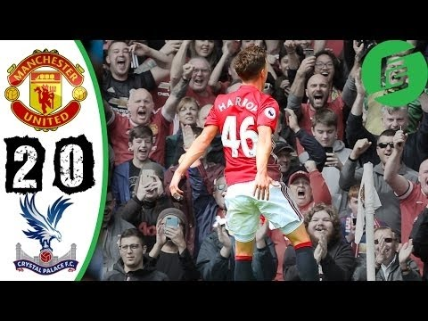 Manchester United vs Crystal Palace 2-0 All Goals Full HD Highlights 21-05-2017