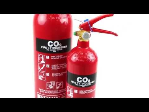 Seton CO2 Fire Extinguisher 2 kg | Seton UK