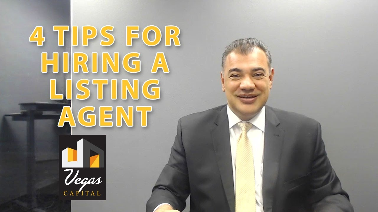 How to Hire the Right Listing Agent